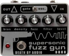 Death By Audio Supersonic Fuzz Gun extreme fuzz