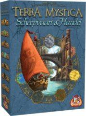 Blauwe White Goblin Games gezelschapsspel Terra Mystica: Scheepvaart & Handel (NL)
