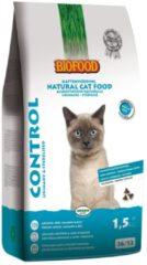 Biofood Ncf Control Urinary&Sterilised - Kattenvoer - Kip Zalm Kippenlever 1.5 kg