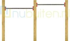 Westwood NuBuiten | Dubbel Duikelrek 90 | RVS