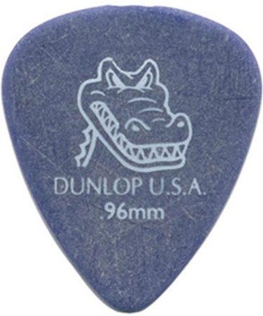 Afbeelding van Paarse Dunlop Gator Grip 0.96mm Pick 12-Pack standaard plectrum
