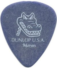 Paarse Dunlop Gator Grip 0.96mm Pick 12-Pack standaard plectrum
