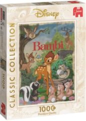Witte Jumbo Disney Classic Collection Bambi Movie 1000 Stukjes Puzzel
