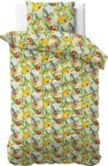 Sleeptime Fruit Trend - Dekbedovertrek - Eenpersoons - 140x200/220 + 1 kussensloop 60x70 - Groen
