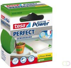 Tesa tesa Extra Power Textieltape Groen (l x b) 2.75 m x 38 mm Rubber Inhoud: 1 rollen
