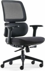 Blauwe BenS 839-Ergo-4 Luxe ergonomische bureaustoel met een Donati mechaniek en een opvallende verstelbare lende steun Voldoet aan EN1335 en Arbo norm
