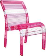 Roze Scratch Deco Stoel Pink 42 X 30 X 53 Cm