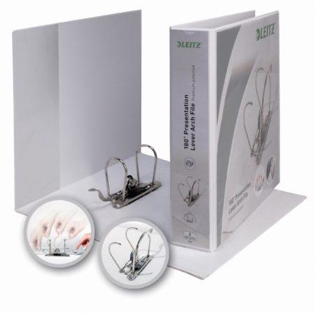 Afbeelding van Leitz Presentatie-ordner Premium 4225 DIN A4, Bovenbreedte Rugbreedte: 80 mm Wit 42250001 1 stuks