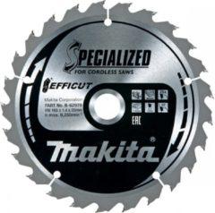 Makita Accessoires Zaagb Efficut 165x20x1,4 25T 23g - B-62979