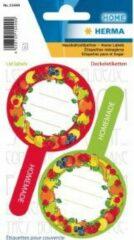 HERMA 15449 Stickers Kitchenlabels voor deksel new look fruit II