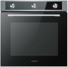 Inventum IOH6072RK oven Elektrische oven 72 l Zwart, Roestvrijstaal A