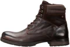 JACK & JONES Leather Boots Men Brown