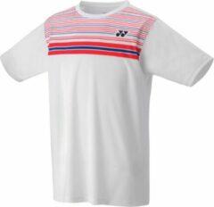 YONEX Men's T-shirt 16347 wit - maatXXL