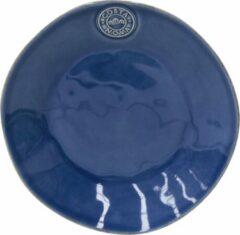 Costa Nova - servies - ontbijtbord - Nova blauw - aardewerk - set van 6 - H 3 cm