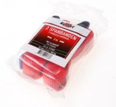 Rode Kelfort Spanband met klemgesp 2 mtr 2