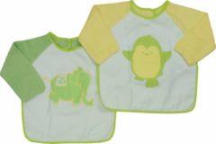 Bianco Blu Babies Slabber Groen Geel Maten: Een maat