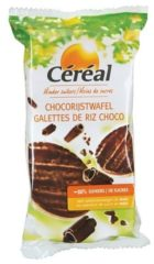 Cereal Céréal Choco Rijstwafels Suikervrij (95g)