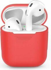 Go Go Gadget Siliconen case | geschikt voor airpods | rood