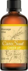 CareScent Cheer Up Massage Olie | Incl. Citroen / Ylang ylang / Gember / Jeneverbes Olie | Massageolie - 100 ml