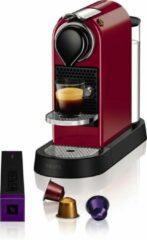Krups Nespresso CitiZ XN7405 - Koffiecupmachine - Rood/Zwart