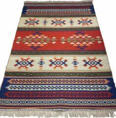 Sunar Home Kelim Vloerkleed Golhisar - Kelim kleed - Kelim tapijt - Turkish kilim - Oosterse Vloerkleed - 120x180 cm