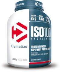 Dymatize Nutrition Dymatize ISO-100 Hydrolyzed - Eiwitpoeder / Eiwitshake - 2200 gram - Aardbei