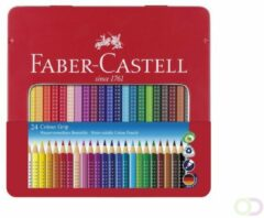 Faber Castell Faber-Castell kleurpotloden grip color 2001 assorti etui à 24 stuks