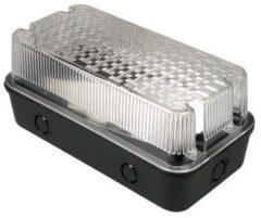Nova Bulk Buitenarmatuur E27 Fitting - Slagvast - 250x270x270 mm - Waterdicht IP44 - Zwart