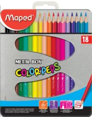 Maped Color'Peps Kleurpotloden 2.9 mm Kleurenassortiment 18 Stuks