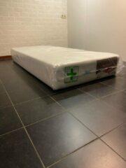 Witte Esila 90x200 7 zones pocketvering matras met HR45 koudschuim 25 CM Bamboo