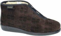 Fischer -Heren - bruin - pantoffels & slippers - maat 40