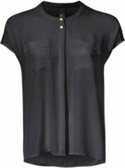 Zwarte Oversized blouse