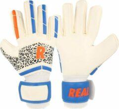Real Europe Keepershandschoenen Heren - Wit / Rood / Blauw / Zwart | Maat: 11
