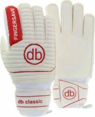 Rode DE Ballenzaak Keepershandschoenen db Classic fingersave Maat 4