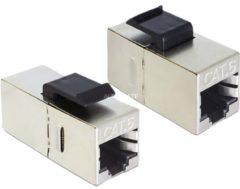 DeLOCK Netzwerk-Zubehör Keystone Modul RJ45 Buchse > RJ45 Buchse Cat.6