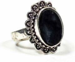 Yogi & Yogini Ring met Zwarte Toermalijn