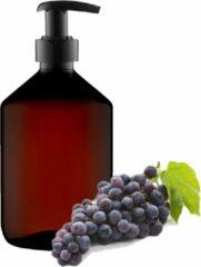 Claudius Cosmetics B.V Massageolie Druivenpitolie - 100% natuurlijk - 500 ml - met pomp