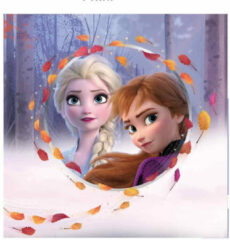 Carbotex Sierkussen Frozen Ii Meisjes 40 Cm Polyester Paars