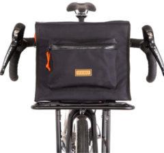 Restrap - Randonneur Bag Large - Stuurtas maat 17 l, zwart