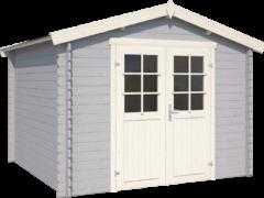 Outdoor Life Products | Blokhut Norah 230 | Platinum Grey | 295x250