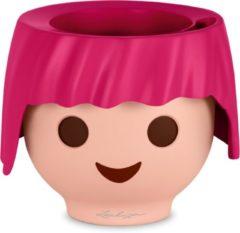 Lechuza - Playmobil - OJO robijn-roze ALL-IN-ONE - educatieve bloempot