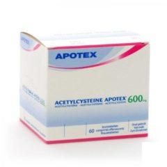 Acetylcysteine Apotex 600 Mg