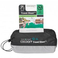 Cocoon - Insect Shield TravelSheet Silk - Reisslaapzak maat 210 x 82 cm zwart/grijs