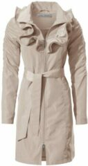 Naturelkleurige Trenchcoat