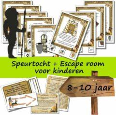 Speurfactory Escape room + speurtocht voor kinderen - De schatkamer van museum Gigantosaurus - kinderfeestje - 8 t/m 10 jaar - compleet draaiboek - Print zelf uit!