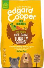 Edgard-Cooper Edgard&Cooper Bio Organic Turkey Adult Kalkoen&Kip&Wortel - Hondenvoer - 700 g Biologisch