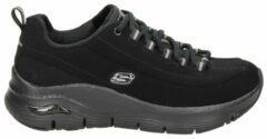 Skechers arch fit sneakers zwart