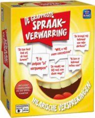 King International Spraakverwarring - King Pocketspel - Grappig Vraag en Antwoordspel - Vanaf 12 Jaar