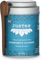 Chamomile Cleanse - JUSTEA 45 gram/80 kop - Kamille thee - Biologische losse thee - Thee cadeau - Fairtrade !
