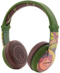 Buddyphones Over-ear hoofdtelefoon BT, Wave, monkey groen